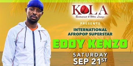 EDDY KENZO - KOLA LOUNGE - 09/21 tickets