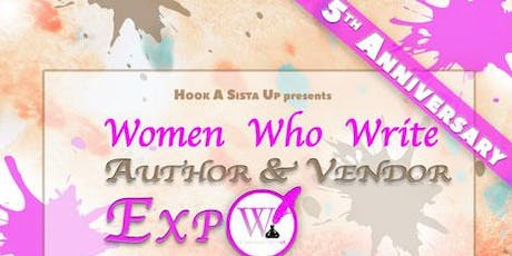 5th annual Women who Write Author and Vendor Expo tickets