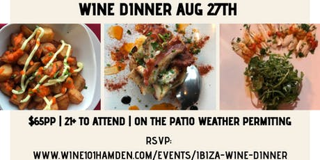 Ibiza Wine Dinner tickets