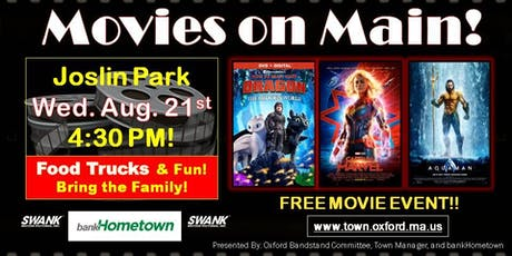 Movies on Main tickets