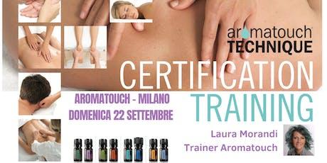 Corso doterra AromaTouch Technique Milano biglietti