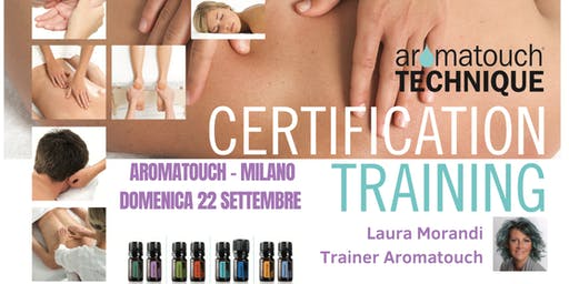 Corso doterra AromaTouch Technique Milano