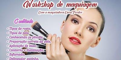 Maquiando com Carol Ferder