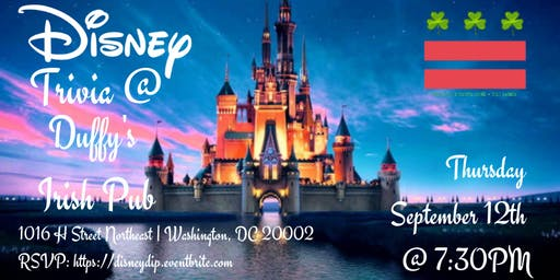 Disney Movie Trivia at Duffy's Irish Pub