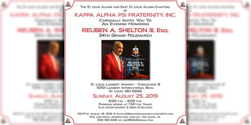 An Evening Honoring Reuben A. Shelton, III Esq. - 34th Grand Polemarch