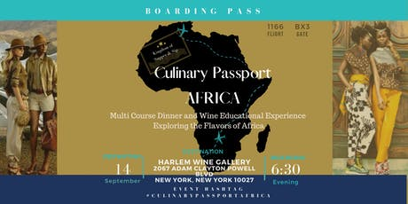 Culinary Passport: Africa tickets