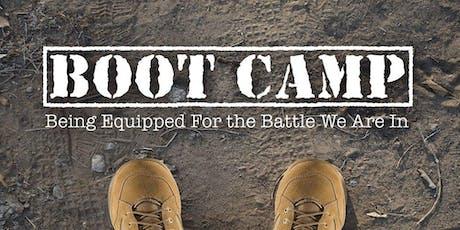 Spiritual Boot Camp  101 tickets