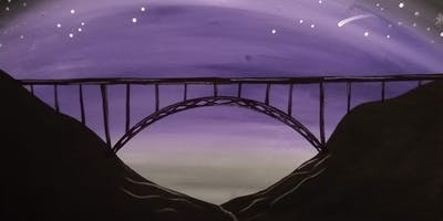 Night New River Gorge Bridge Paint & Sip at Southside Junction Tap House