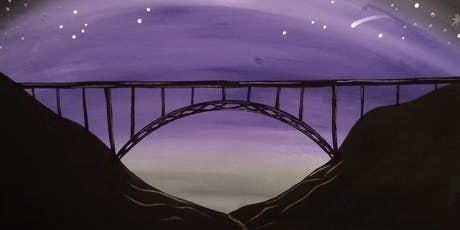 Night New River Gorge Bridge Paint & Sip at Southside Junction Tap House tickets