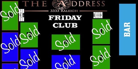 Love Fridays At The Address tickets