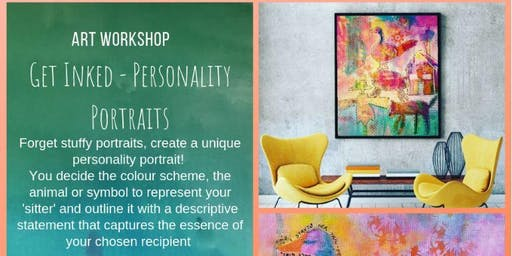 Get INKED! Intuitive Painting Workshop