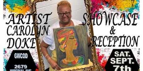 Carolyn Doke Artist Showcase & Reception tickets