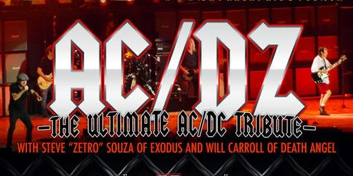 AC/DZ - The Ultimate AC/DC Tribute w/CRÜELLA - All Women, All Crüe