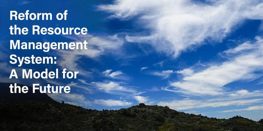 Reform of the Resource Management System: A Model for the Future (Wellington Workshop)
