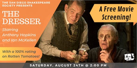 "Free Screening: ""The Dresser"" Starring Anthony Hopkins & Ian McKellen tickets"