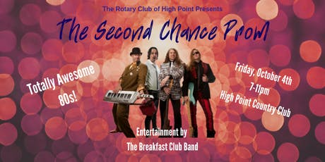 The Second Chance Prom, Totally Awesome 80s tickets