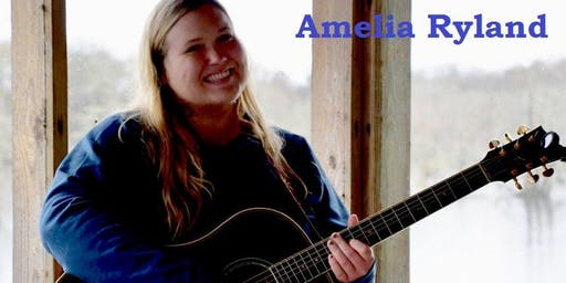 Amelia Ryland: Sat Night Live Music 9/28 6p at La Divina