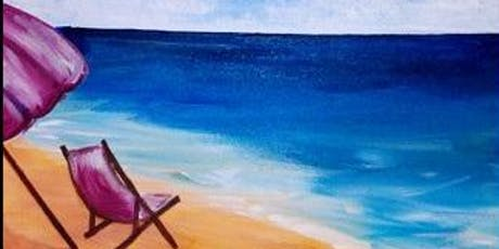 Paint Wine Denver At the Beach Sun Sept 1st 1:30pm $25 tickets