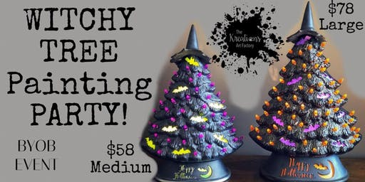 WITCHY TREE Party!