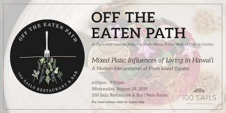 Off The Eaten Path tickets