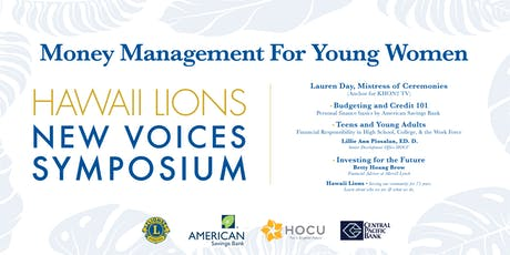 Money Management for Young Women tickets