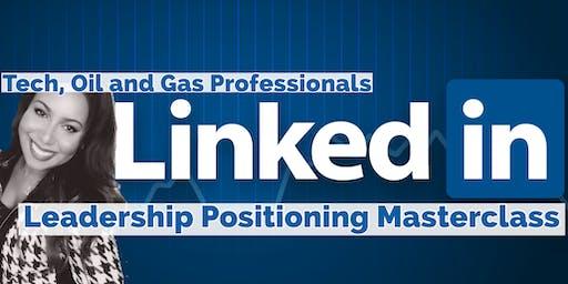 Optimizing LinkedIn For Leadership Opportunities: Tech, Oil & Gas