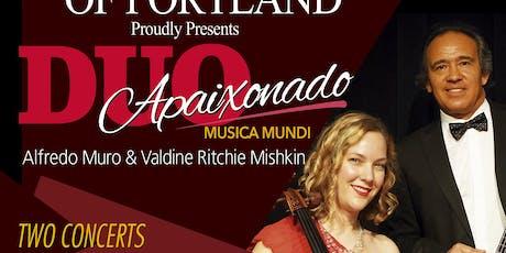 DUO APAIXONADO tickets