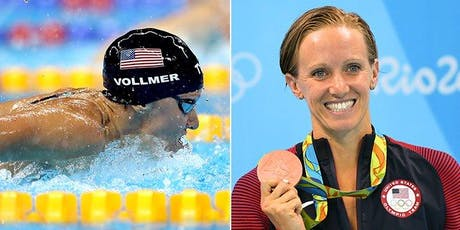 Washington, PA Swim Clinic w 3x Olympian Dana Vollmer  - Sat Sept 7, 9am-12pm 12-18yr olds & 11-2pm 8-11yr olds tickets