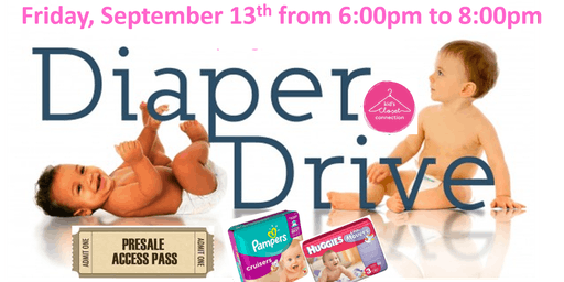 Real Options Diaper Drive Presale Fall/Winter 2019