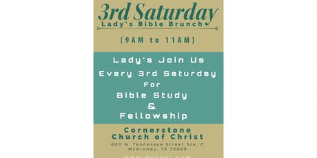 3rd Saturday Lady's Bible Brunch  tickets