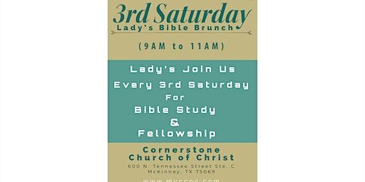 3rd Saturday Lady's Bible Brunch