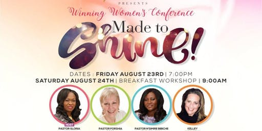 """""""Made to Shine"""" Winning Women's Conference"""