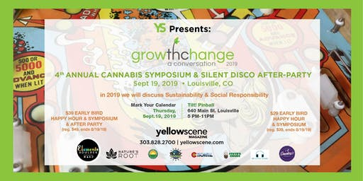 4th Annual Cannabis Symposium & Silent Disco After Party