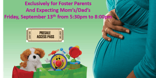 Foster Parents and Expecting Mom's Presale Fall/Winter Sale 2019