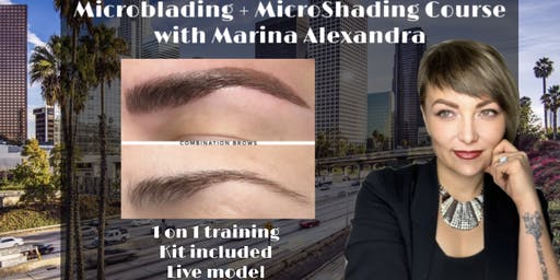 1 ON 1 PRIVATE MICROBLADING CERTIFICATION TRAINING COURSE BILINGUAL CLASS (English or Russian)