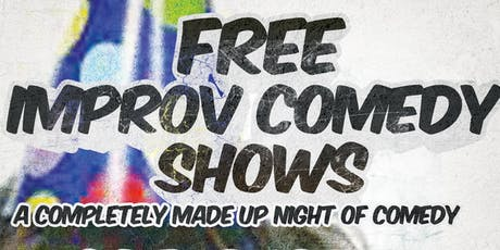 Free Improv Comedy Shows in Kakaako - August 24th at 7:30pm tickets