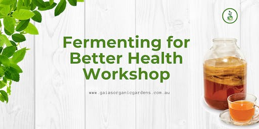Fermenting for Better Health Workshop