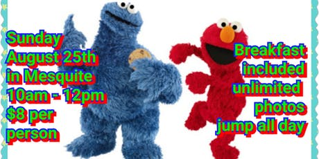 Breakfast with Elmo & Cookie Monster tickets