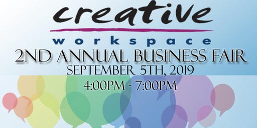 Creative Workspace Annual Business Fair