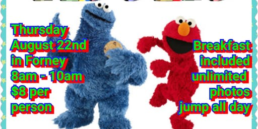 Breakfast With Elmo - Forney