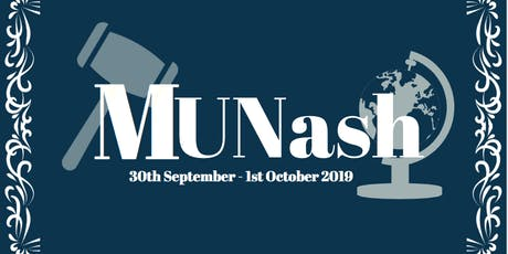 Monash Model United Nations 2019 tickets