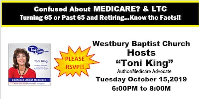 Confused about Medicare/LTC Workshop, Westbury Baptist Church