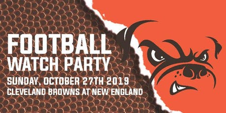 Browns v. Patriots Watch Party Fundraiser tickets