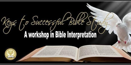 Keys to Successful Bible Study tickets