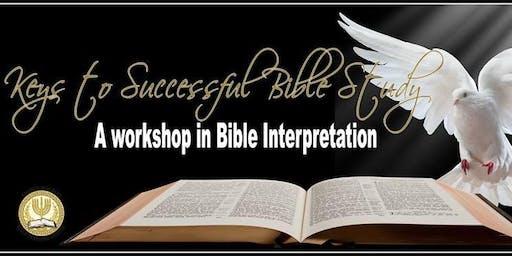 Keys to Successful Bible Study