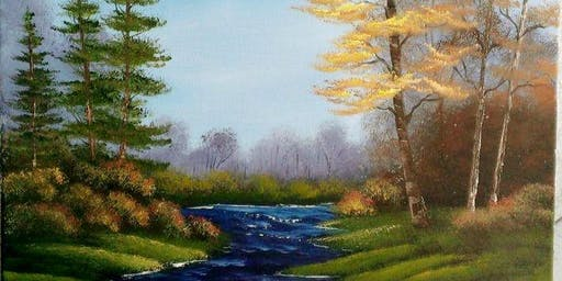 Bob Ross Oils Class Sun Sept 29th 9am-3pm $70 Includes Materials