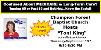 Confused About Medicare Workshop-Champion Forest