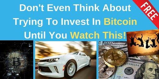 Don't Even Think About Trying To Invest In Bitcoin Until You Watch This!
