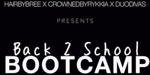 Back 2 School Bootcamp