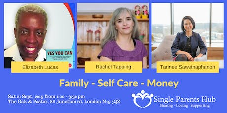 Family - Self Care - Money tickets